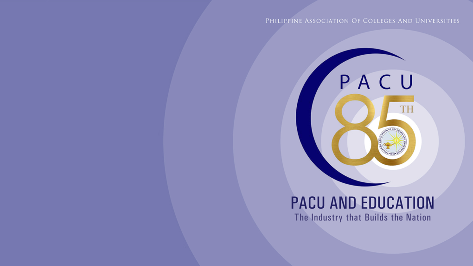 PACU's 85th Founding Anniversary