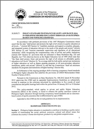 Executive – Philippine Association of Colleges and Universities