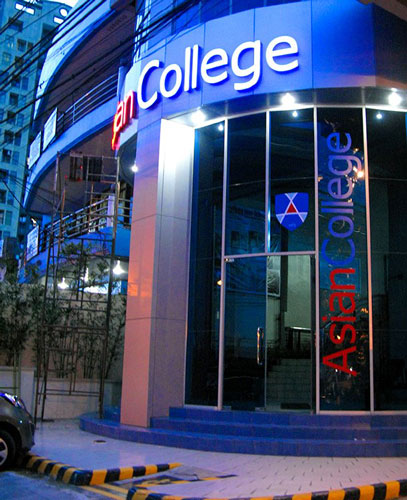 ASIAN COLLEGE