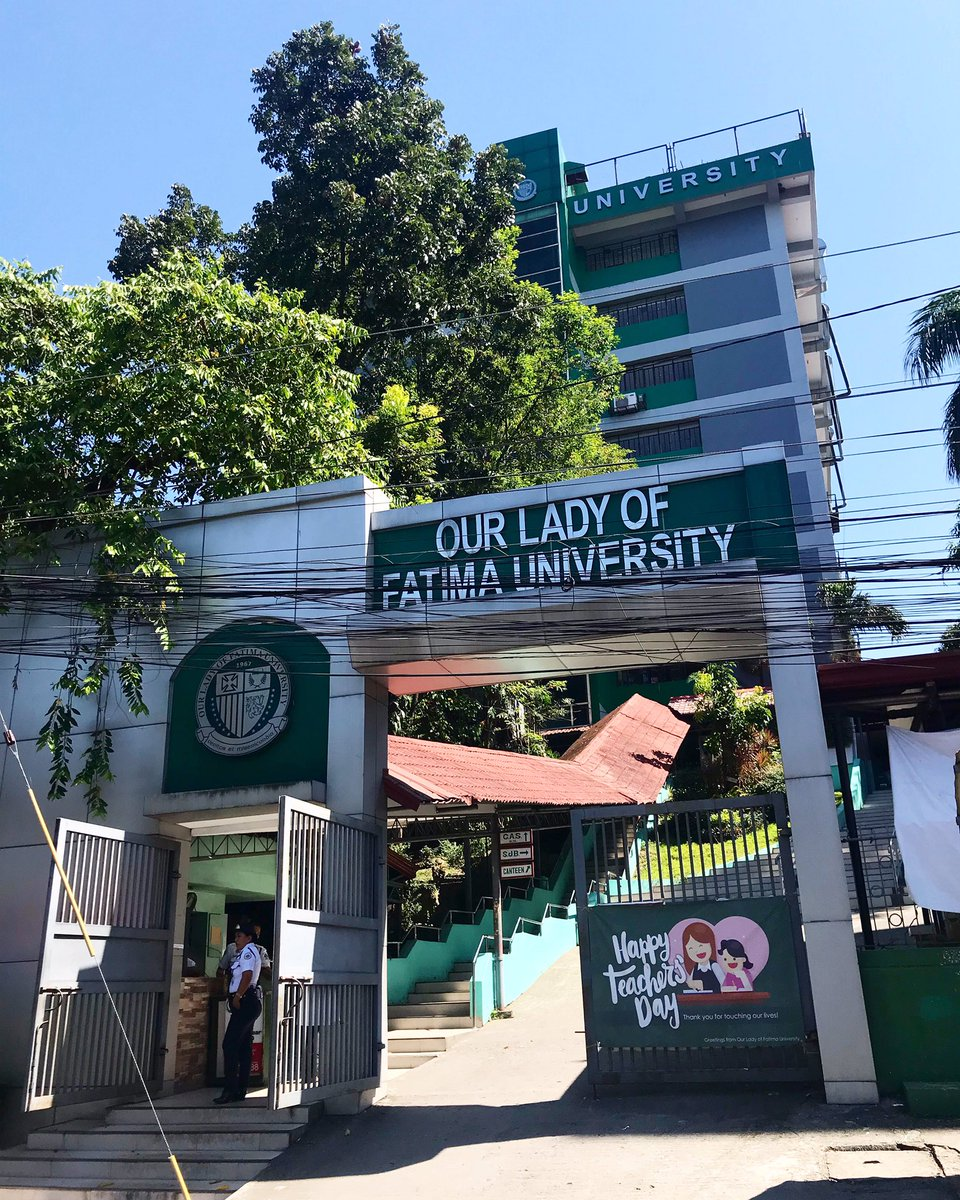 OUR LADY OF FATIMA UNIVERSITY, QUEZON CITY